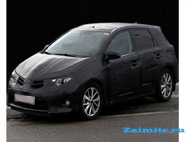 �� ��������� ���������� ����� ������������ ����� ��������� Toyota Auris
