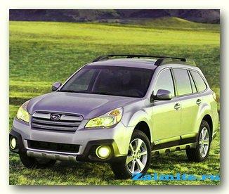 В 2013 году начнутся продажи нового поколения Subaru Outback