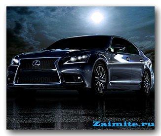 В новом Lexus LS — три тысячи изменений