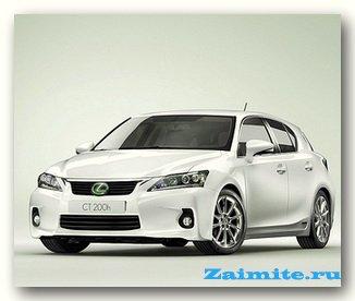 Тойота  готова представить новый гибридный Лексус