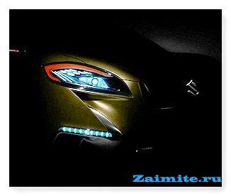 Suzuki покажет концепт S-Cross на парижском автосалоне
