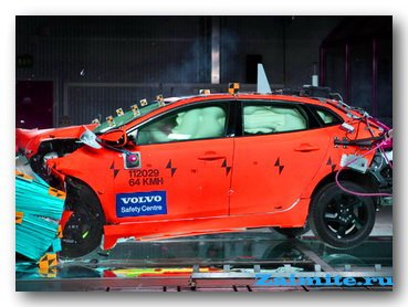 Volvo V40 — самый безопасный авто за всю историю проведения испытаний Euro NCAP