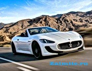 Премьеры Парижского автошоу - кабриолет Maserati GranTurismo MC