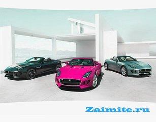 Jaguar F-Type покажут на автошоу в Париже