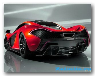 McLaren P1 - дебют на автосалоне в Париже